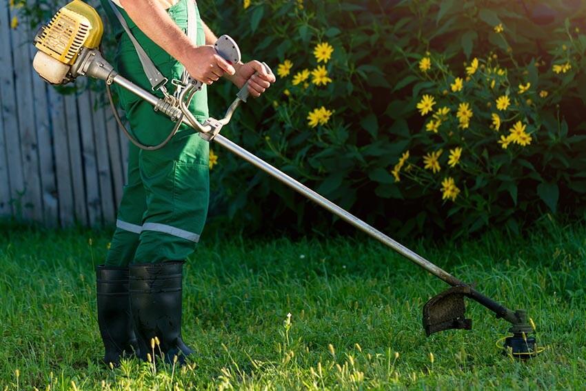 Sprzątanie terenów zielonych